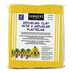 Sargent Art 1lb Non-Hardening Modeling Clay Yellow