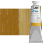 LUKAS Berlin Water Mixable Oil Color 37 ml Tube - Yellow Ochre