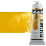 Matisse Structure Acrylic Colors Yellow Oxide 75 ml