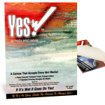 "Yes! All Media Cotton Canvas Pad 11x14"" 10 Sheets"