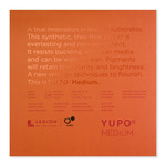 Yupo White 74lb Medium Grain Multi-Media 7x7 Pad 10 sheets