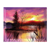 Wilson Bickford Beveled Edge Stretched Canvas