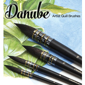 Creative Mark Danube Professional Watercolor Quill Brushes