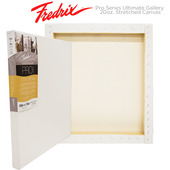 Fredrix Pro Series Ultimate Gallery Cotton Stretched Canvas