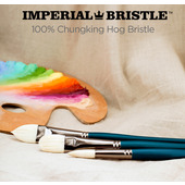 Imperial Professional Chungking Hog Bristle Brushes by Creative Mark