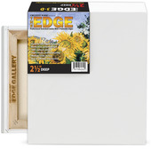"""The Edge All Media Cotton Deluxe Stretched Canvas 2-1/2"""" Deep"""