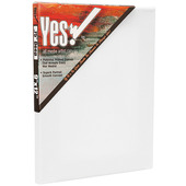 """Yes! All Media Cotton Stretched Canvas 3/4"""" Deep"""